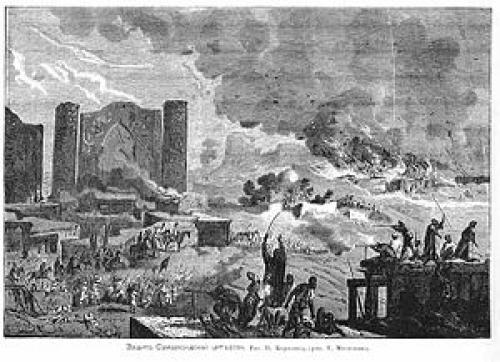 Оборона самарканда 1868. Оборона Самарканда (1868)