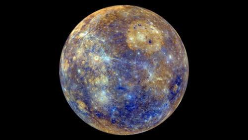 Самая быстрая из планет солнечной системы. Меркурий