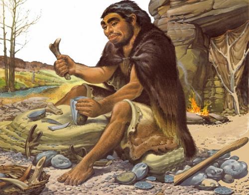 В древние времена люди. Человек древнего мира