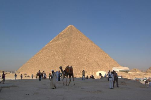 Пирамиды 7 чудес Света. Пирамида Хеопса