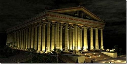 Чудеса света. 3 Храм Артемиды в Эфесе