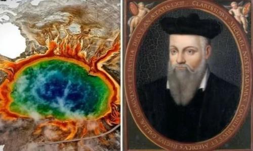 Библия говорила о новом извержении йеллоустоуна. Нострадамус говорил об извержении вулкана Йеллоустоун