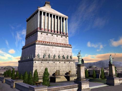 Семь чудес света мавзолей в Галикарнасе. Мавзолей в Галикарнасе