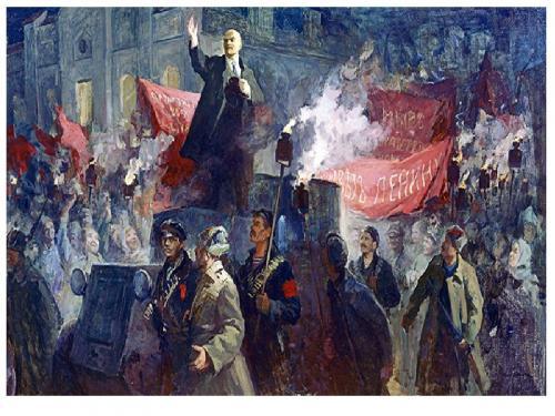 Интересные факты революции 1917 года. Интересные факты об октябрьской револлюции 1917 года