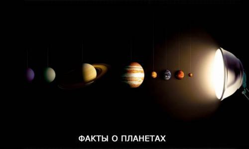 Про планеты интересное. Интересные факты о планетах