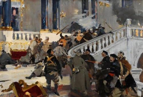 Интересные факты о февральской революции 1917 года.  Штурм Зимнего дворца был серьёзной массовой акцией ицентральным событием всей революции