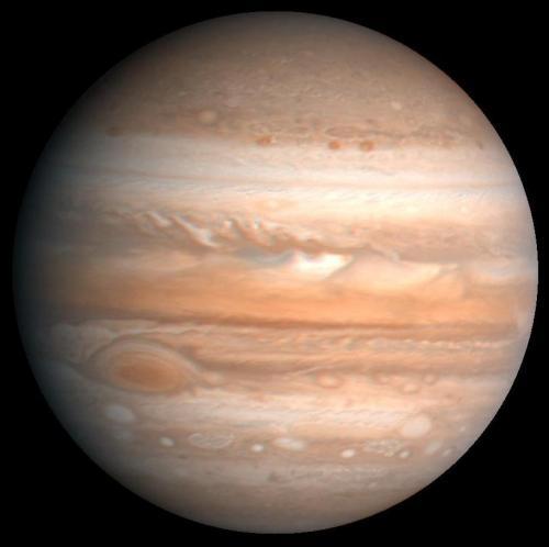 Рельеф Юпитера. Планета Юпитер