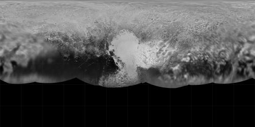 Рельеф Плутона. Поверхность Плутона