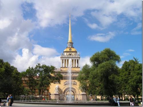 Шпиль Адмиралтейства высота. Санкт-Петербургское Адмиралтейство