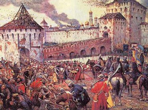 Интересные факты о Смутном времени в России. Смутное время в России: факты и события