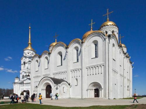 Строительство Успенского собора во Владимире. Успенский кафедральный собор во Владимире