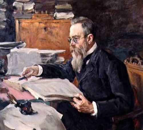 С 1856 по 1862 год Римский-Корсаков учился. Умер композитор Николай Андреевич Римский-Корсаков