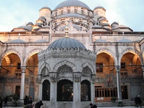 Голубая мечеть Стамбул. Описание Голубой мечети Стамбула