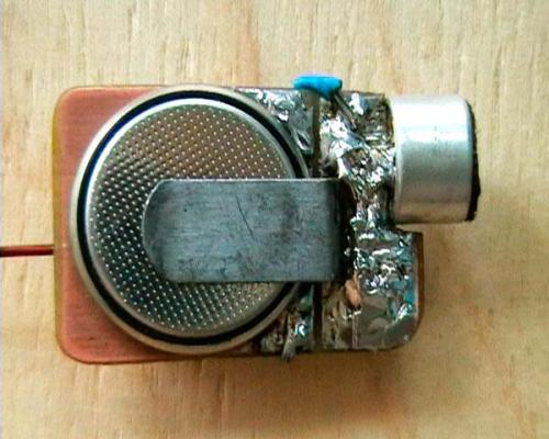 Жучки для прослушки. Схема FM — жучка для прослушки