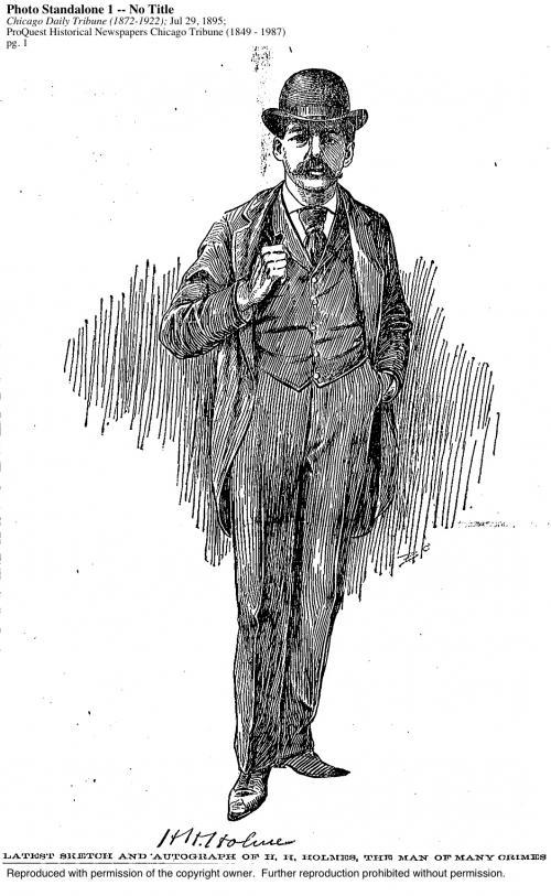 Генри Говард Холмс. Когда говорят ковбои