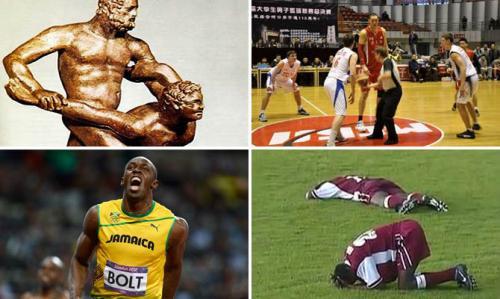 Сведения о спортсменах у которых развиты сила. Самые интересные факты о спортсменах