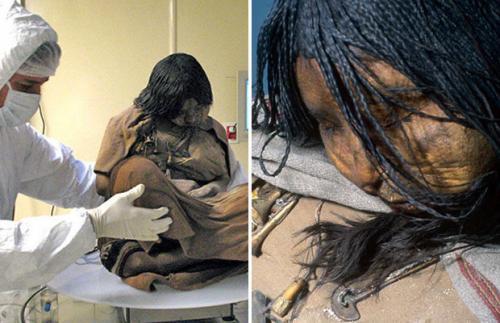 Ледяная дева из племени инков. Инкская дева и её секреты 500-летней давности (10 фото)