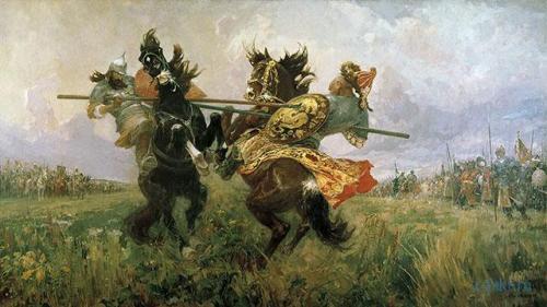 Почему перед битвой произошел поединок именно Пересвета и челубея. Поединок Пересвета с Челубеем