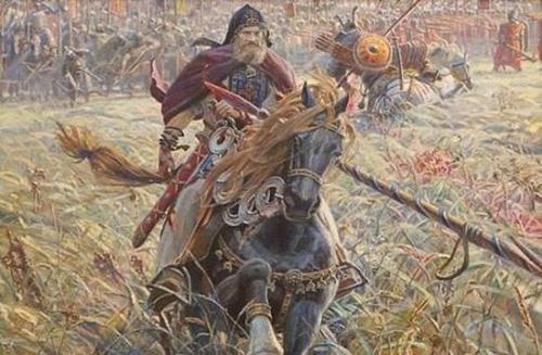 Кто сразился с Челубеем на поле Куликовом. То что не написано в житиях