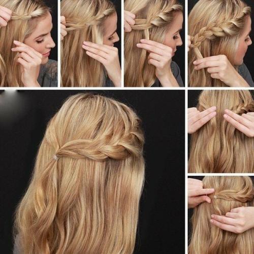 Как уложить волосы быстро. Варианты на стрижку средней длины