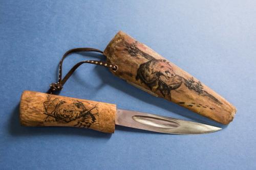 Якут нож. Легенда Севера - Якутский нож
