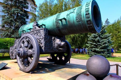 Царь пушка когда появилась. Царь-пушка — Москва, Кремль