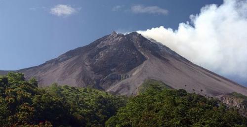 Самый мощный вулкан. 1 Мерапи (Индонезия)
