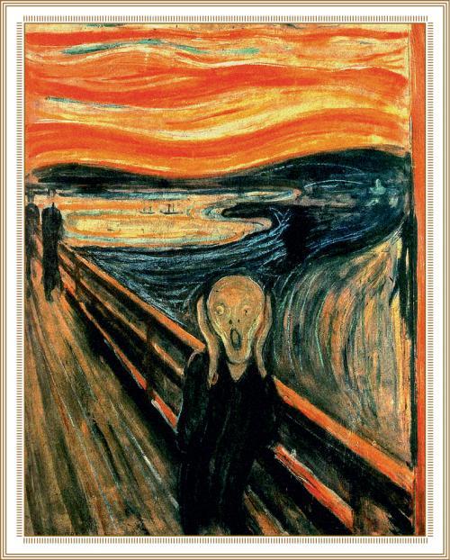Картины 21 века художников. «Крик»