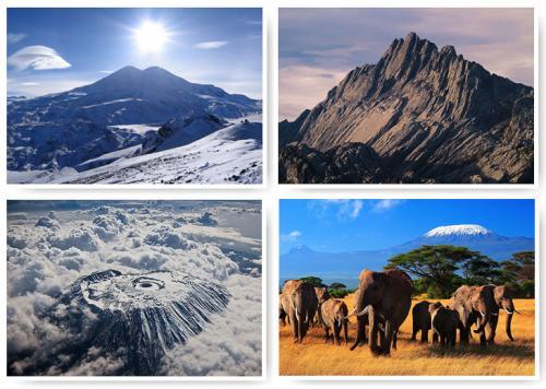 Самые высокие горы на материках. Самые высокие горы на 6 континентах