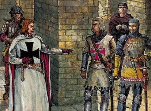 Где жили рыцари. Рыцари