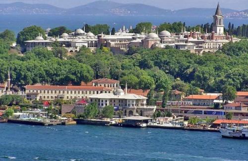 Дворец топкапы в Стамбуле.