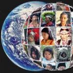 Мир из 100 человек.