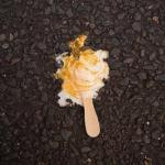 Почему грязный сухой пол в общественном месте не представляет опасности для упавшей еды?