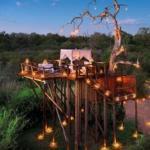 Отель Lion Sands, южная Африка.