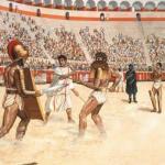 Древнеримская публика любила кровавые зрелища не только на гладиаторских боях, но и на обычных театральных представлениях.