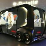 """Компания Toyota представила свою новую концепцию уникального электротранспорта под названием """"e - Palette""""."""