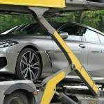 Четырехдверная BMW 8 Series показалась на живых фото.