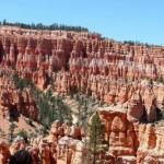 Национальный парк Брайс - каньон расположен на территории штата юта (США.