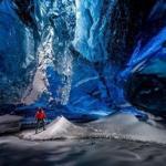 Ледяные пещеры ледника ватнайёкюдль, Исландия.