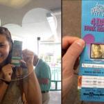 Милая история недели: американка прошла в диснейленд по билету, 22 года пролежавшему у неё в подвале.