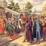 Употре 6 ление на Руси отчества как части родового имени - это подтверждение связей человека с отцом.