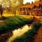 На юго-западе Англии в районе котсуолд расположена небольшая деревушка бибури, которую Уильям Моррис считал самой красивой.