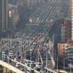 В Шанхае был установлен рекорд на самую большую автомобильную пробку.