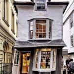 """""""Скрученный"""" дом Xvii века, Англия."""
