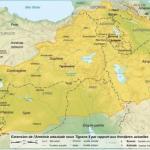 Территория великой Армении во времена правления Тиграна II великого (140 год до н. э. - 55 год до н. э. ).