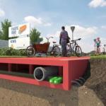 """Голландцы начинают строить """"Вечные"""" пластиковые дороги."""