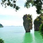 Остров Джеймса Бонда (или ко тапу) - самая фотографируемая достопримечательность Таиланда.