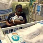 Новорожденный ребенок.  Вы никогда не задумались о том, как выглядит ребенок в утробе матери?