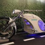 Электрический мотоцикл Smart Chopper.