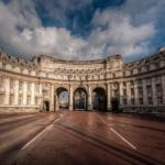 Арка адмиралтейства.  Трехарочная арка, расположенная в Лондоне.